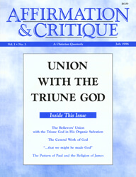 Union with the Triune God (cover)