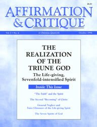 The Realization of the Triune God—The Life-giving, Sevenfold-intensified Spirit