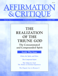 The Realization of the Triune God—The Consummated and Compounded Spirit (cover)