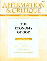 The Economy of God (cover)